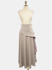 Lacework Lantern Sleeve Women Two Piece Skirt Set