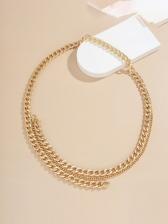 Solid Easy Matching Fashion Waist Chain