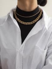 Punk Street Fashionable Layered Necklace