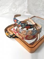 Korean Style Flower Cloth Art Hair Hoop