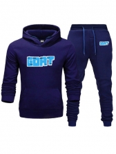 Exercise Letter Long Sleeve Mens Activewear