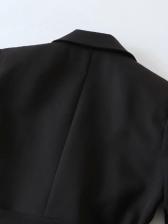 Fashion Plaid Long Coat Women Autumn