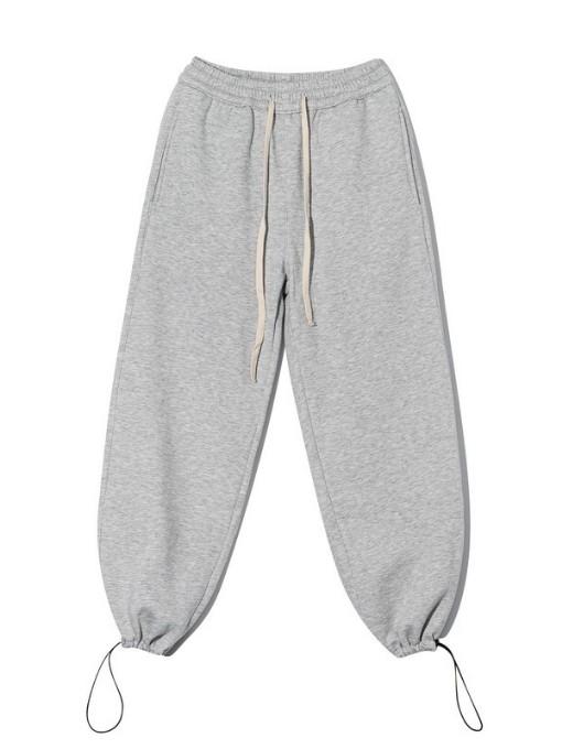 Autumn Sport Casual Plush Thicker Drawstring Pants