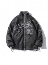 Reversible Cashmere Winter Thicker Baseball Cotton Coat