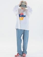 Hip Hop Trendy Sport Casual Long Sleeve Sweatshirt