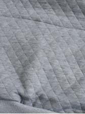 Autumn Rhombus Plaid Pullover Hoodie