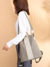 Fashion Patchwork Backpacks For Teens
