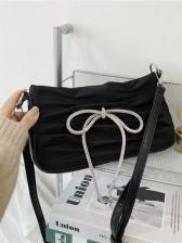 Vintage Bow Design Shoulder Bags