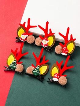 Cute Christmas Children Hair Accessories