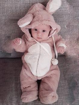 Thicken Cartoon Rabbit Shape Baby Rompers