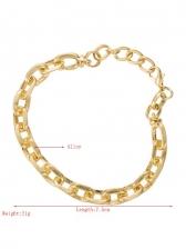 Hollow Out Design Fashion Punk Bracelet