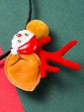 Christmas Cartoon Santa Claus Honey Girl Hair Hoop