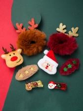 Christmas Cute Four Pieces Set Hair Accessories