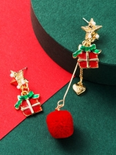 Christmas Party Exquisite Earrings Women