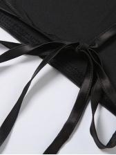 Irregular Tie Wrap Summer Backless Sexy Tank Top