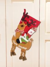 Christmas Stockings Deer Christmas Tree Pendant