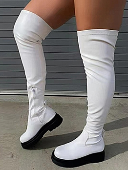 Stylish High Platform Over The Knees Boots