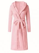 Cardigan Plush Thicker Home Wear Night-Robe