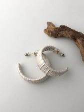 Vintage Simple C-Shape Easy Match Earrings
