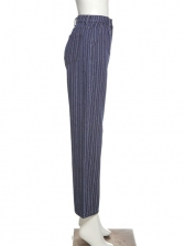 Casual Striped Loose Pants For Women