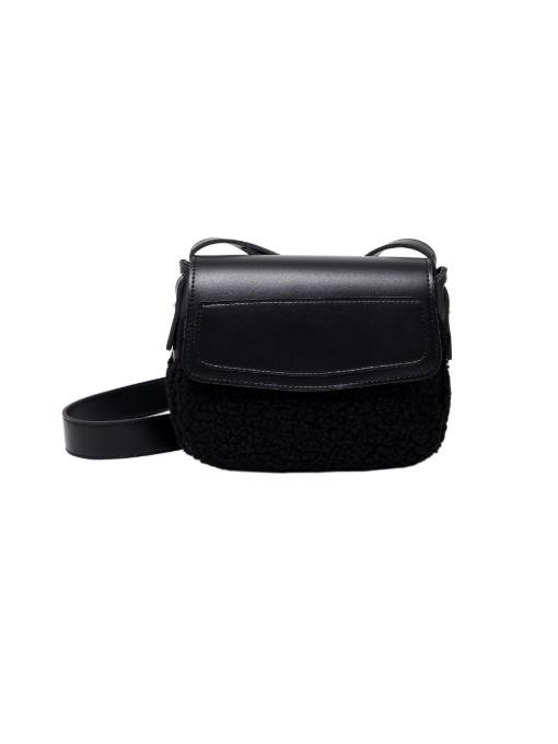 New Plush Patchwork Shoulder Bags