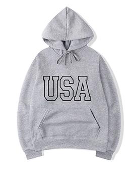 Winter Thicken Fashion Versatile Plus Size Hoodie