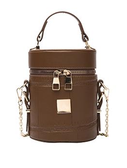 Fashion New Chain Cylinder Bag