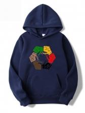Plus Size Casual Men Hoodie Fashion Versatile