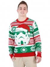 Santa Claus Print Plus Size Christmas Sweatshirts