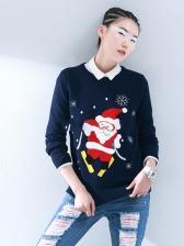 Trendy Winter Casual Women Christmas Sweater