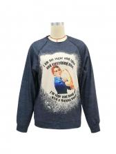 Loose Stylish Autumn Sweatshirt For Women