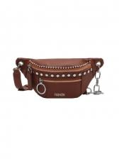 New Rivet Chain Crossbody Shoulder Bag