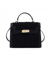 Popular Wool Simple Shoulder Bags