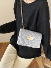 New Plush Chain Ladies Shoulder Bag
