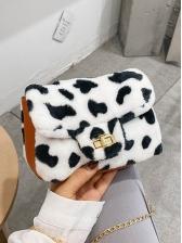 New Cow Print Mini Shoulder Bags