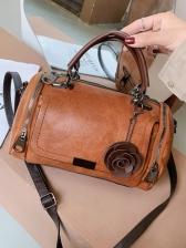 Vintage Pu Ladies Shoulder Bag