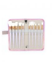 Screw Thread Handle Makeup Brush Sets