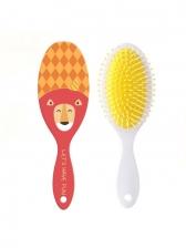 Cartoon Cute Ellipse Shape Plastic Massage Comb