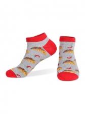 Jacquard Weave Autumn Women Socks