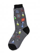 Stylish Design Education Themed Print Socks
