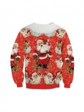 Latest Digital Printing Christmas Sweatshirt Winter