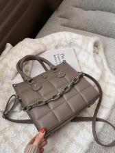 Acrylic Chain Handle Fashion Temperament Crossbody Bag