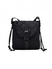 Black Versatile Retro Casual Women Shoulder Bag