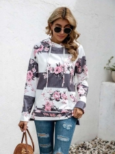 Striped Long Sleeve Hoodies For Women Casual