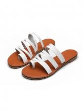Summer Round Open Toe Ladies Slippers