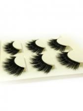 Black Natural Warping Women False Eyelashes