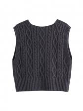 Easy Matching V Neck Sweater Vest