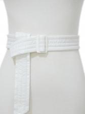 Costume Matching Solid Waist Belt