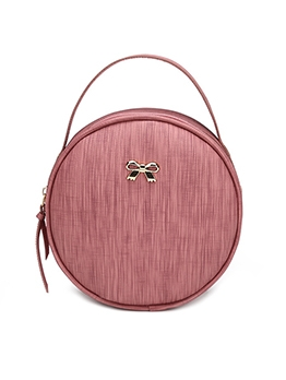 Casual Round Solid Shoulder Mini Bags