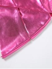 Nightclub Hollow Out V Neck Sleeveless Mini Dress